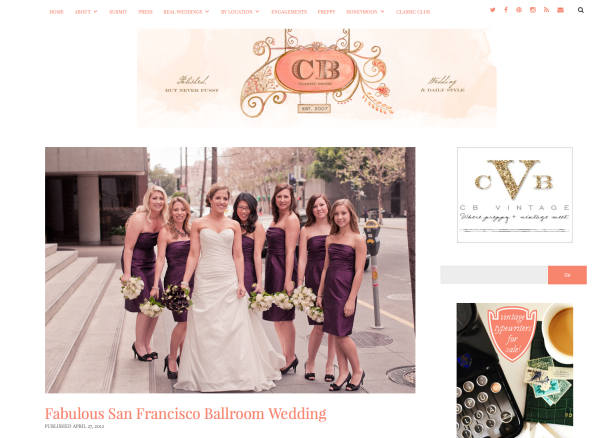 julia morgan ballroom san francisco wedding by laura monfredini on classic bride