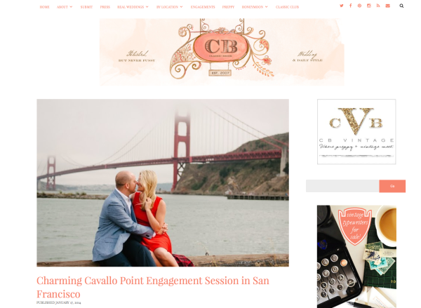 cavallo point engagement session classic bride